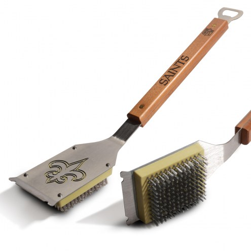 New Orleans Saints Classic Grill Brush