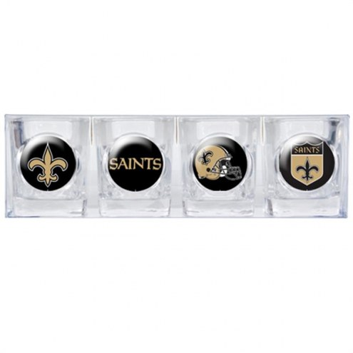 New Orleans Saints Collector's Shot Glass Set