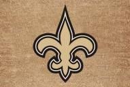New Orleans Saints Colored Logo Door Mat