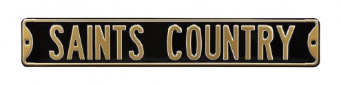 New Orleans Saints Country Street Sign