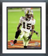 New Orleans Saints Courtney Roby Super Bowl XLIV Action Framed Photo