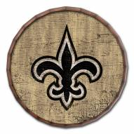 "New Orleans Saints Cracked Color 24"" Barrel Top"
