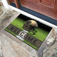 New Orleans Saints Crumb Rubber Door Mat