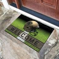 New Orleans Saints Crumb Rubber Door Mat
