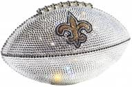 New Orleans Saints Swarovski Crystal Football