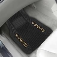 New Orleans Saints Deluxe Car Floor Mat Set