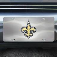 New Orleans Saints Diecast License Plate