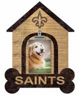 New Orleans Saints Dog Bone House Clip Frame