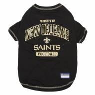 New Orleans Saints Dog Tee Shirt
