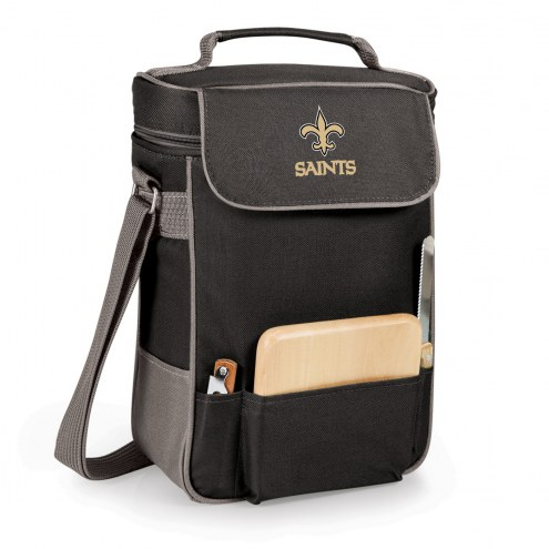 New Orleans Saints Duet Insulated Wine Bag