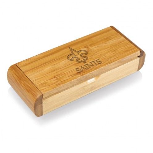 New Orleans Saints Elan-Bamboo Corkscrew