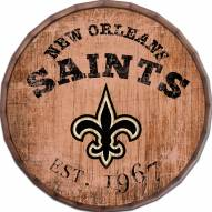 """New Orleans Saints Established Date 16"""" Barrel Top"""