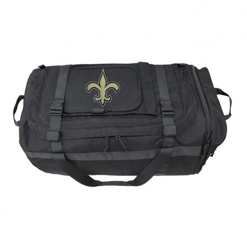 NFL New Orleans Saints Expandable Military Duffel