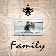 New Orleans Saints Family Picture Frame