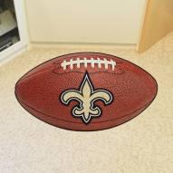 New Orleans Saints Football Floor Mat