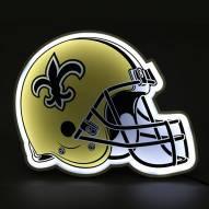 New Orleans Saints Football Helmet LED Lamp