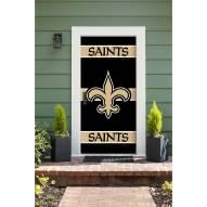 New Orleans Saints Front Door Cover