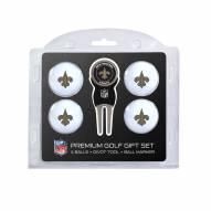 New Orleans Saints Golf Ball Gift Set