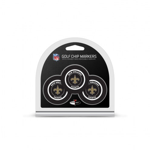 New Orleans Saints Golf Chip Ball Markers
