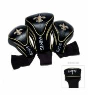 New Orleans Saints Golf Headcovers - 3 Pack
