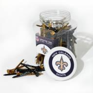 New Orleans Saints 175 Golf Tee Jar