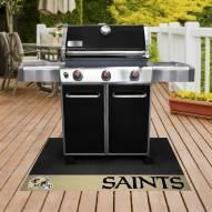 New Orleans Saints Grill Mat