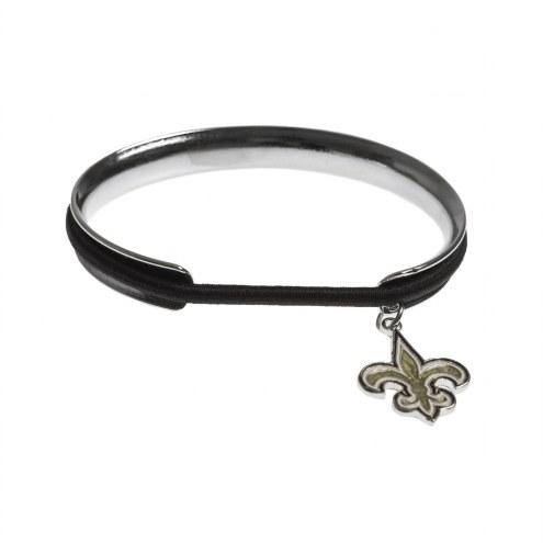 New Orleans Saints Hair Tie Bangle