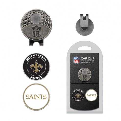 New Orleans Saints Hat Clip & Marker Set