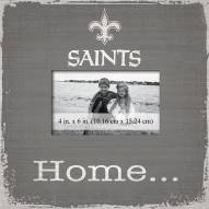 New Orleans Saints Home Picture Frame