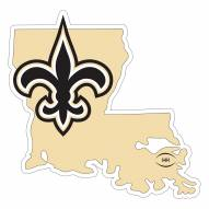 """New Orleans Saints Home State 11"""""""" Magnet"""
