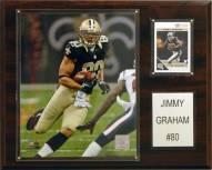 """New Orleans Saints Jimmy Graham 12 x 15"""" Player Plaque"""