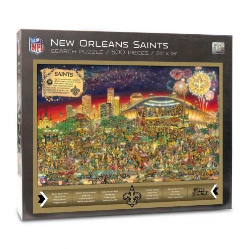 New Orleans Saints Joe Journeyman Puzzle