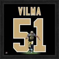 New Orleans Saints Jonathan Vilma Uniframe Framed Jersey Photo