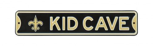 New Orleans Saints Kid Cave Street Sign