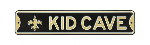 New Orleans Saints Kid Cave Street Sign