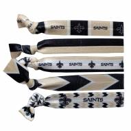 New Orleans Saints Knotted Hair Tie