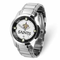 New Orleans Saints Titan Steel Men's Watch
