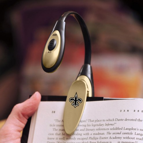 New Orleans Saints LED Book Reading Lamp