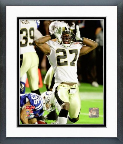 New Orleans Saints Malcolm Jenkins Super Bowl XLIV Action Framed Photo