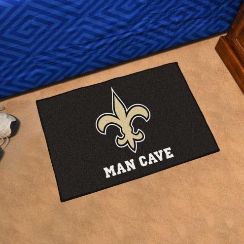 New Orleans Saints Man Cave Starter Mat