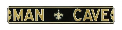 New Orleans Saints Man Cave Street Sign
