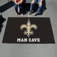 New Orleans Saints Man Cave Ulti-Mat Rug