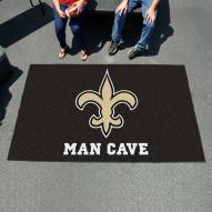 New Orleans Saints Man Cave Ulti-Mat Rug