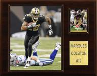 """New Orleans Saints Marques Colston 12 x 15"""" Player Plaque"""