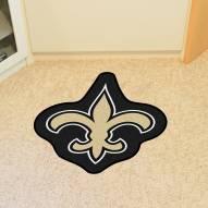 New Orleans Saints Mascot Mat