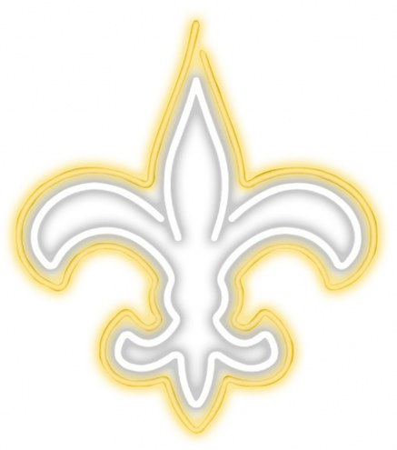New Orleans Saints Neon Light