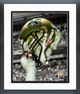 New Orleans Saints New Orleans Saints Helmet Spotlight Framed Photo