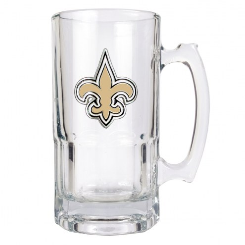 New Orleans Saints NFL 1 Liter Glass Macho Mug