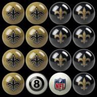 New Orleans Saints NFL Home vs. Away Pool Ball Set