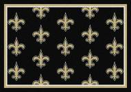 New Orleans Saints NFL Repeat Area Rug